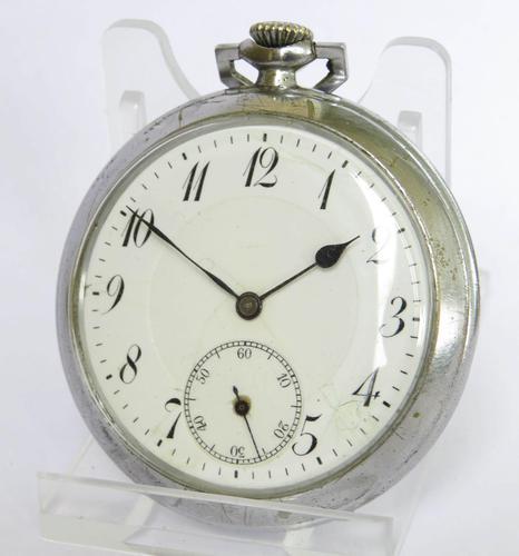 1930s Art Deco Pocket Watch (1 of 5)