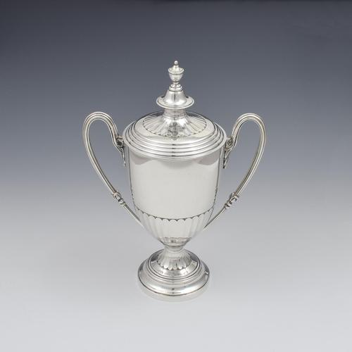 Fine Victorian Silver Trophy Cup & Cover Mappin & Webb (1 of 9)