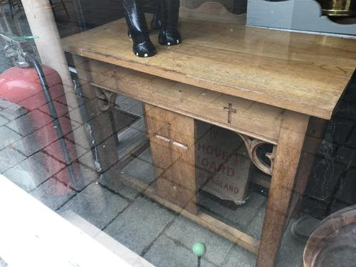 Oak Alter / Church Gothic Table (1 of 6)