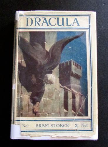 1927 Dracula by Bram Stoker Rare UK Rider Edition + Original Dust Jacket (1 of 5)