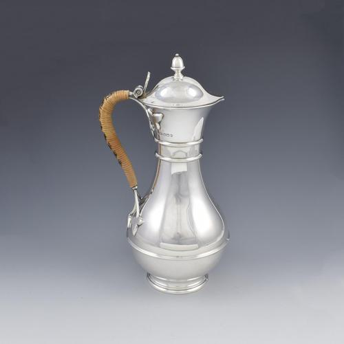 Victorian Arts & Crafts Silver Claret Jug / Wine Ewer (1 of 16)