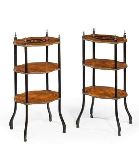 Pair of Late 19th Century Etagères (1 of 6)