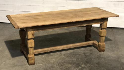 Rustic French Oak Farmhouse Dining Table (1 of 26)
