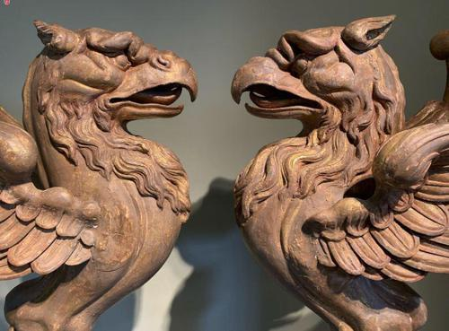 Mid- Georgian Griffins - Decorative Hand Carved & Gilded Pair (1 of 5)
