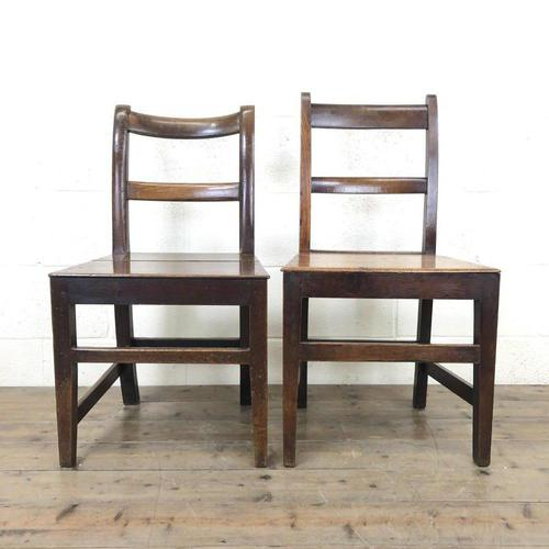 Two Antique Welsh Farmhouse Chairs (m-1255) (1 of 9)