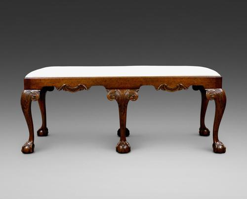 Late 19th Century George II Style Stool (1 of 6)