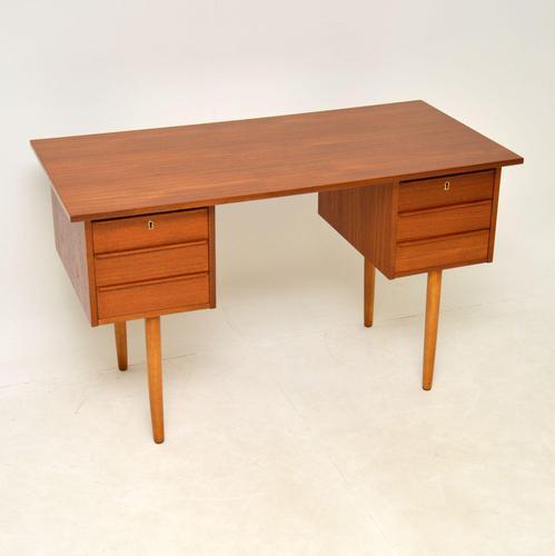Danish Teak Vintage 1960's Desk (1 of 10)