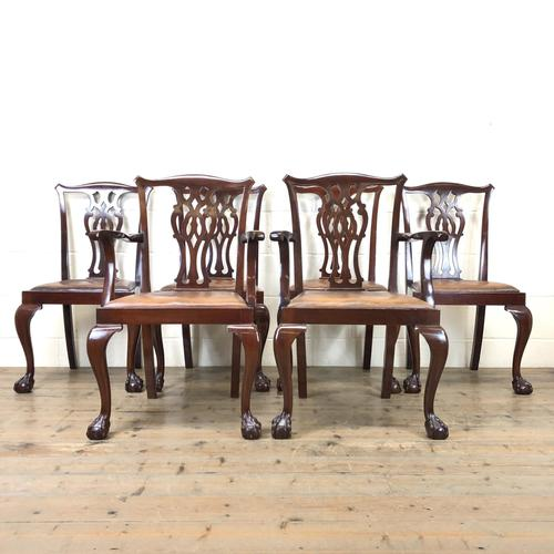 Set of Six 20th Century Dining Chairs (1 of 11)