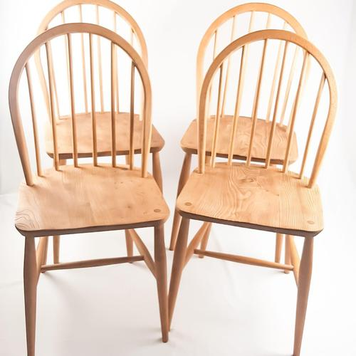 Set of Four Ercol Windsor Chairs (1 of 8)