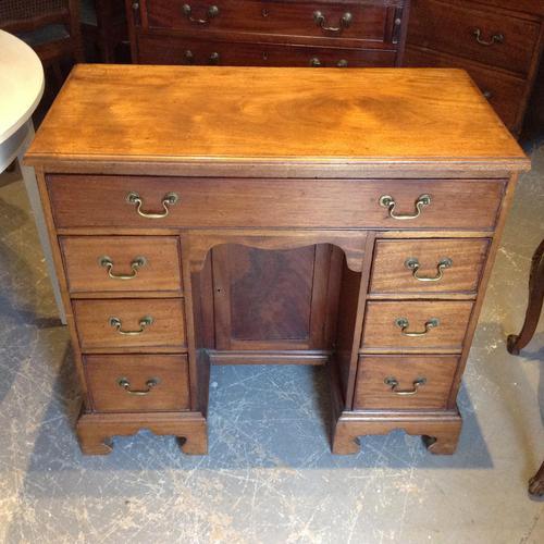 Mahogany Kneehole Desk (1 of 1)