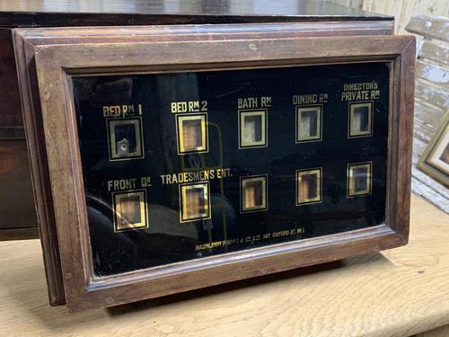 Edwardian Servants Bell Box (1 of 3)