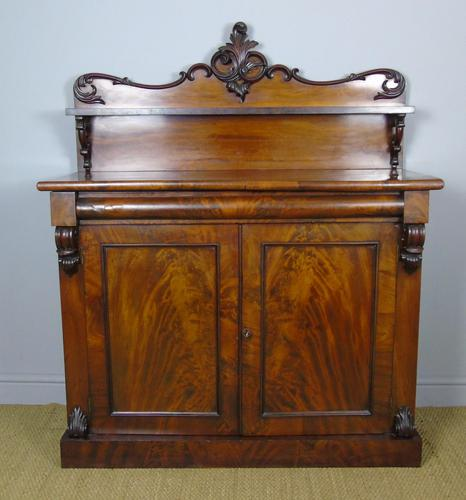 Victorian Flame Mahogany Chiffonier Cabinet Sideboard (1 of 8)