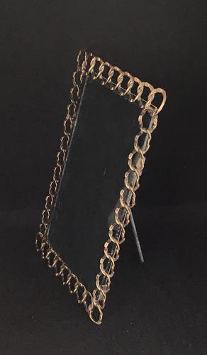 Victorian Brass  Easel Ring  Photo Frame (1 of 4)