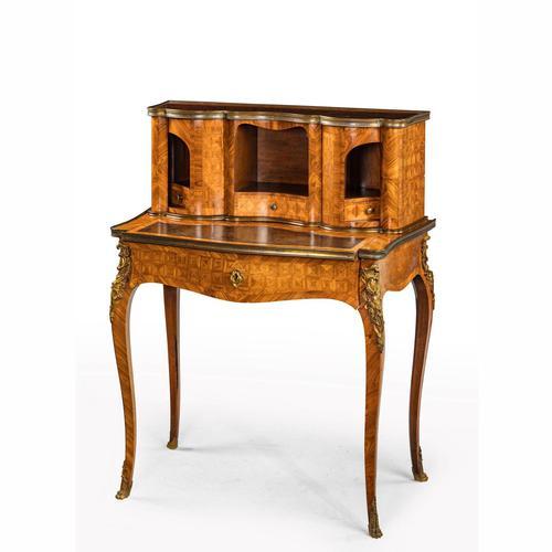 Late 19th Century Kingwood & Rosewood Bonheur du Jour (1 of 4)