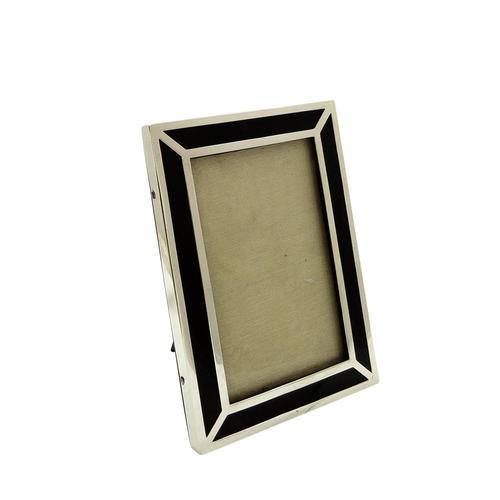 "Antique Sterling Silver & Tortoiseshell 7"" Photo Frame 1916 (1 of 8)"