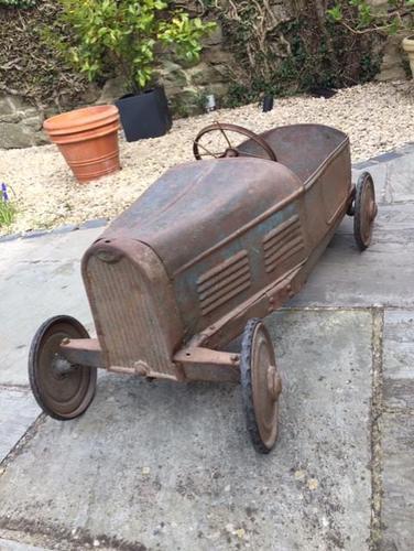 Vintage Eureka Bugatti Pedal Car Original 1930's (1 of 12)