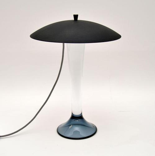 Vintage Swedish Glass Table Lamp by Goran Warff for Kosta Boda (1 of 8)