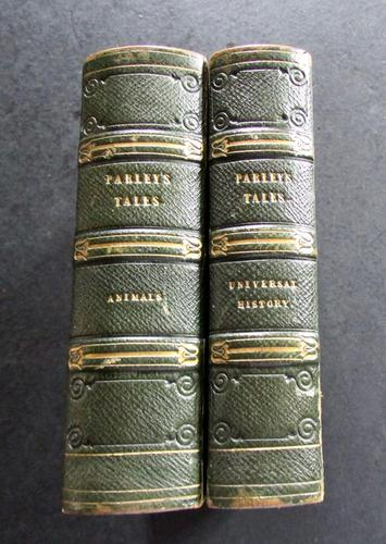 1838 Tales About Animals & Universal History by Peter Parley (1 of 5)