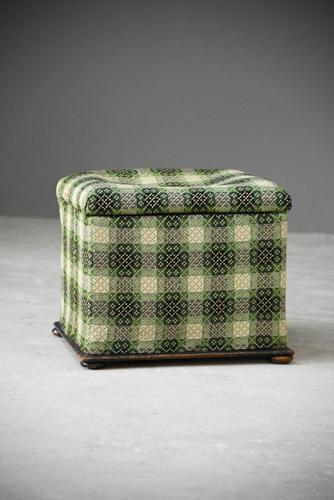 Welsh Blanket Ottoman (1 of 12)