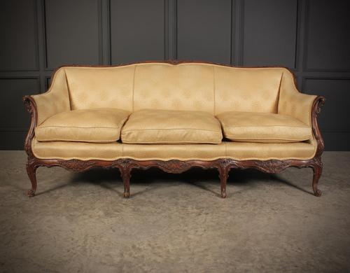 French Walnut Couch (1 of 16)