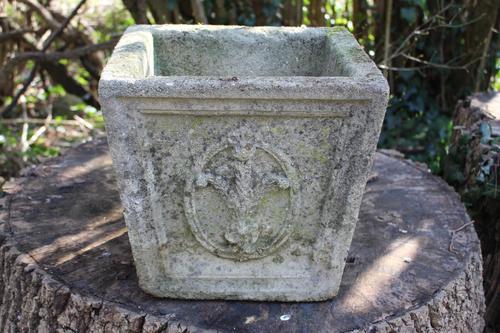 Composition Stone Stone Jardiniere (1 of 2)