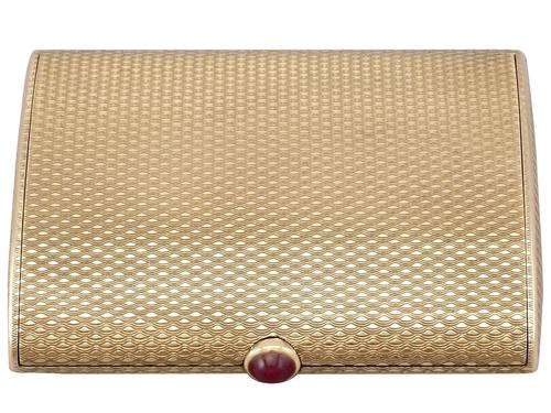 9ct Yellow Gold & 0.86ct Ruby Compact by Boucheron - Vintage 1964 (1 of 18)