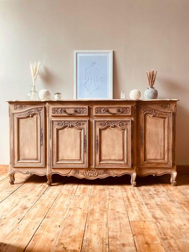 French Antique Large Normandy Sideboard / Buffet / Cupboard (1 of 10)