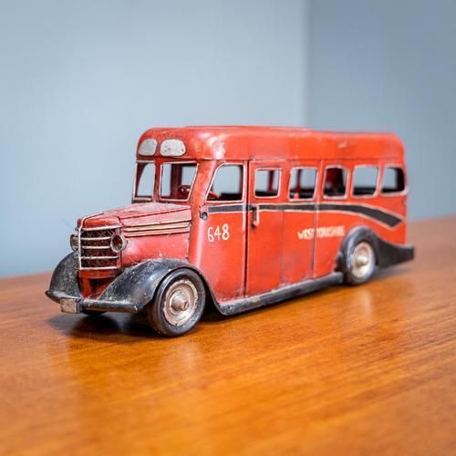 Retro Toy Tin Bus (1 of 7)
