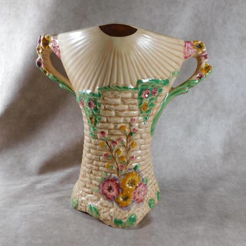 "Large Arthur Wood ""Garden Wall"" Vase (1 of 7)"