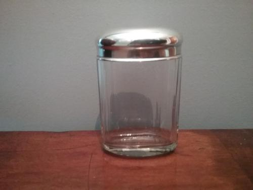 Silver Topped Gentlmans Cologne Bottle (1 of 3)