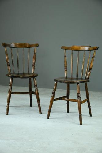 Pair of Country Ibex Kitchen Chairs (1 of 12)