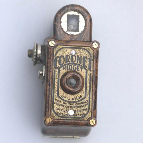 A Scarce Novelty Miniature Antique Photography Coronet Midget Spy Camera C.1930 (1 of 6)