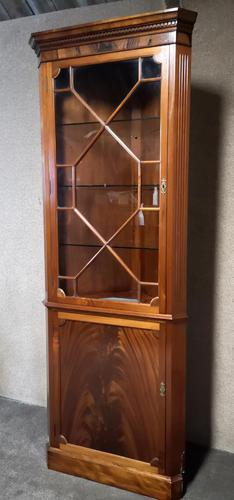Mahogany Corner Cabinet in the Georgian Style (1 of 10)