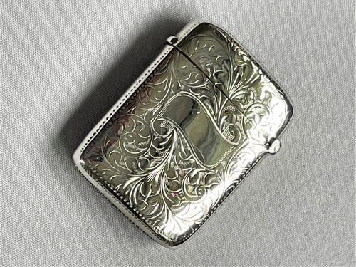 Lovely Victorian Silver Vesta (1 of 5)