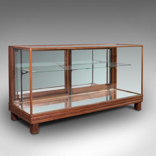 Antique Haberdasher's Display Cabinet, English, Mahogany, Showcase, Edwardian (1 of 12)