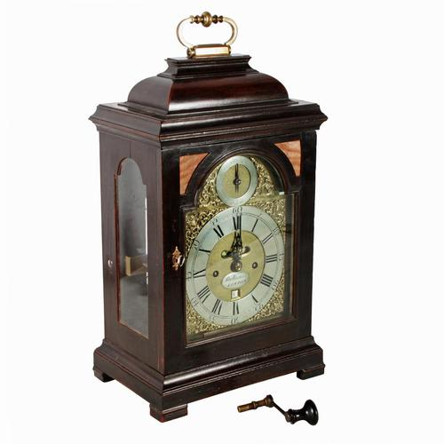 George II Bracket Clock by Samuel Whichcote (1 of 8)