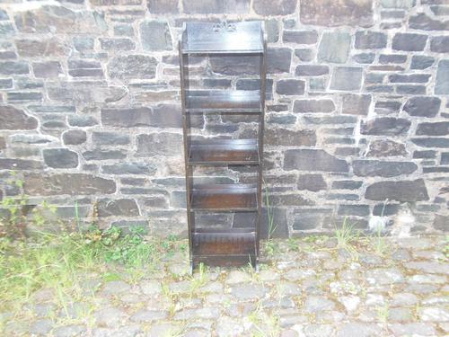Arts & Crafts Oak Open Bookshelf (1 of 10)