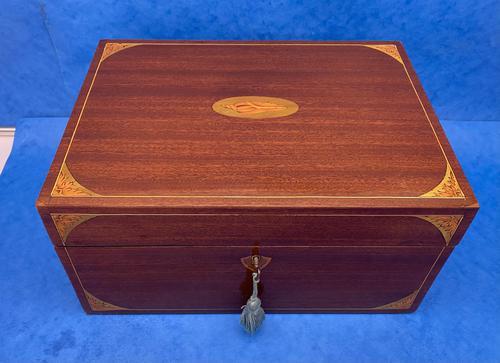 Edwardian Sheraton  Revival Mahogany Box (1 of 10)