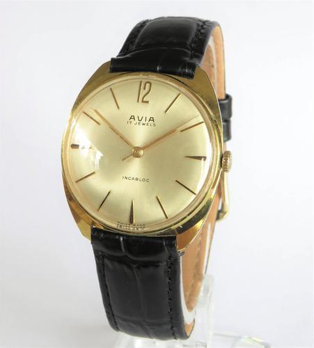 Gents 1960s Avia Wristwatch (1 of 5)