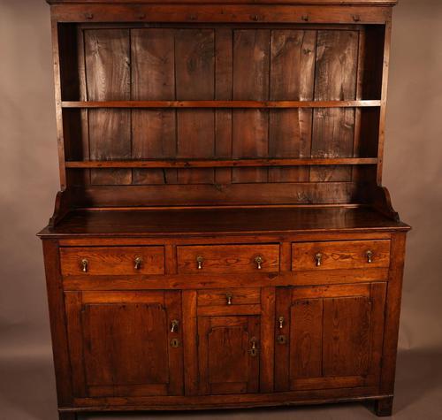 Good 18th Century Oak Dresser (1 of 11)
