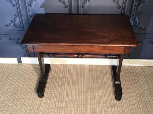 Victorian Mahogany Side Table (1 of 9)