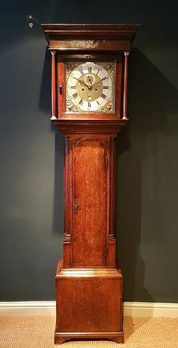 Superb Antique George III 8 Day Preston Longcase Clock (1 of 8)