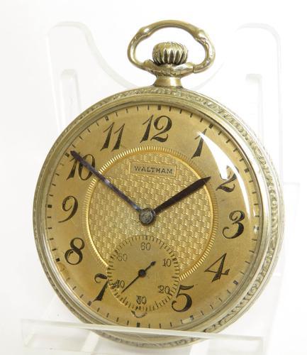 Antique Waltham Pocket Watch, 1917 (1 of 4)