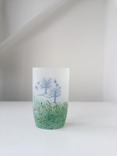 Kosta Boda Art Glass Vase (1 of 6)