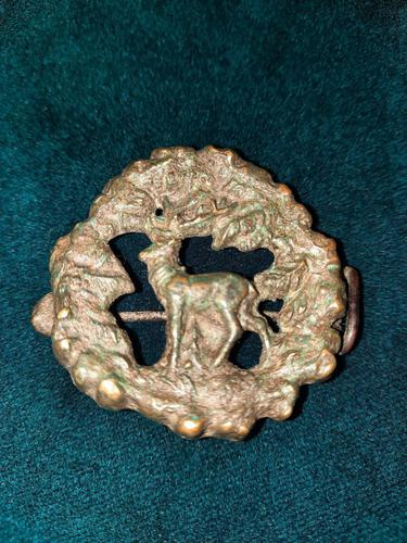 14th-16th Century Scottish Bronze Cloak Brooch (1 of 6)