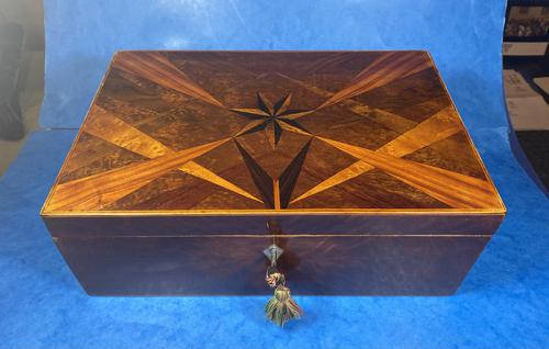Victorian  Fitted Jewellery Box With Inlay (1 of 15)