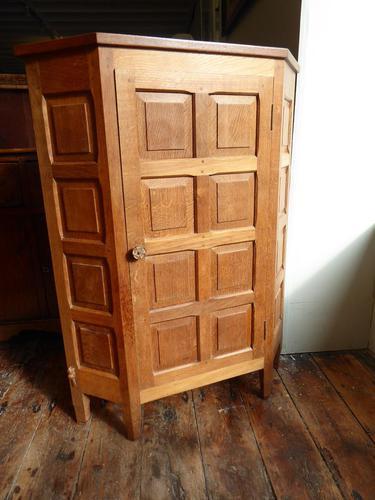 """Beaverman"" Oak Corner Cabinet (1 of 7)"