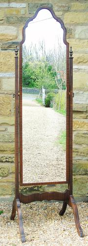 Antique Cheval Dressing Mirror (1 of 6)