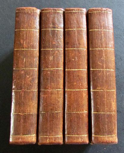 1789 A History of the People Called Quakers oy John Gough Complete in 4 Volumes - 1st Edition Set (1 of 5)