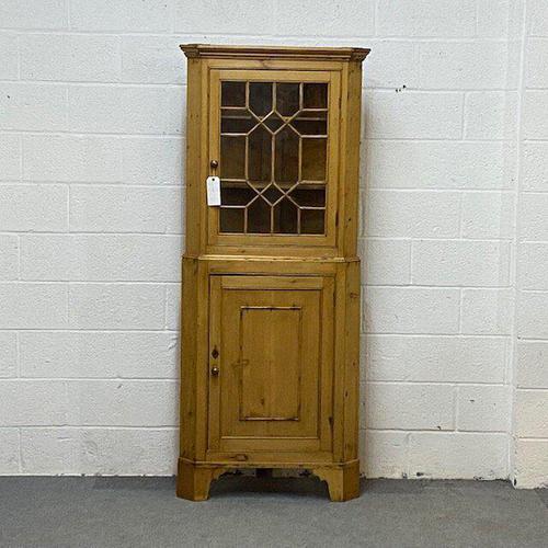 Late Georgian Partly Glazed Corner Cabinet (1 of 5)